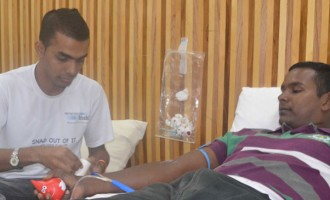 Labasa People Donate Blood