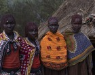 Tribal Circumcision Ceremony In Kenyan Village