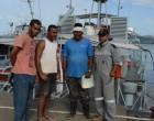 Three Rescued At Sea