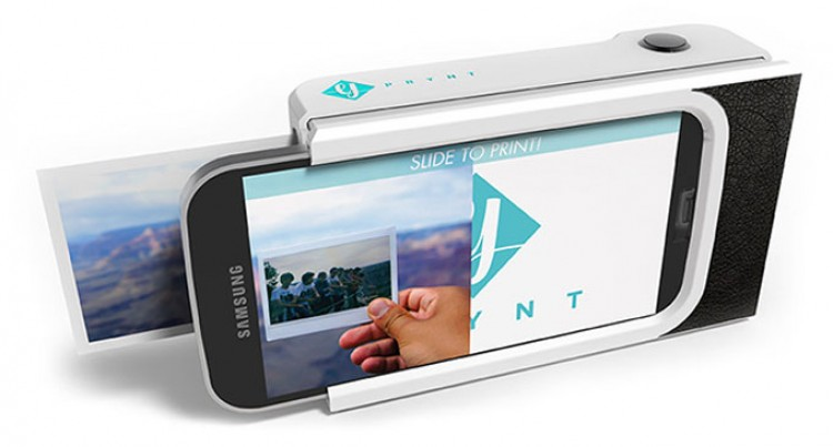 A Polaroid-style Phone Case Can Print Selfies Under A Minute