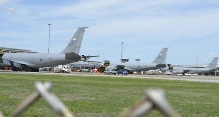 US Air Force Aircraft In Nadi