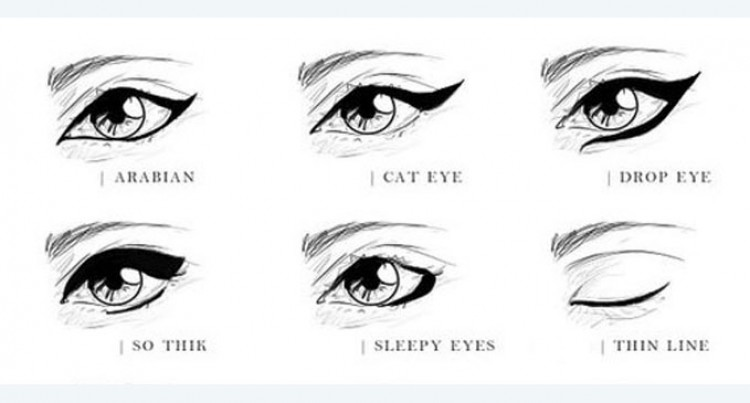 Use Eye Liner Like A Pro