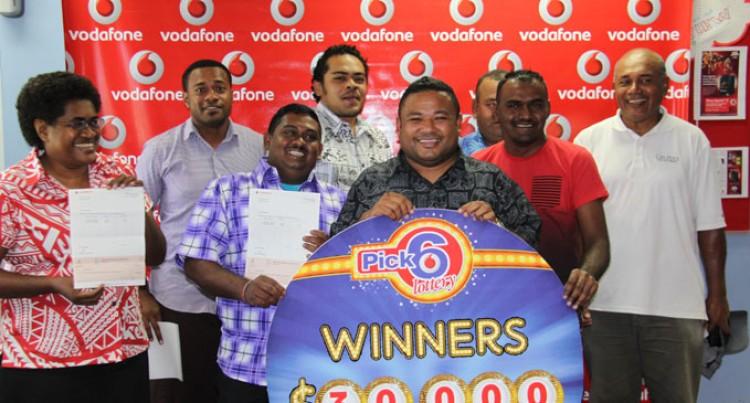 Seven Win Vodafone's $30k Mobile Lotto