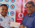 Vodafone Gives Fiji Red Cross $1500