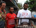 Supporters Wow Tenana, 'Rasta'