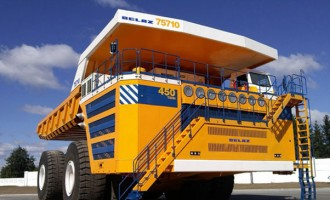 World's Biggest Dump Truck Goes Electric