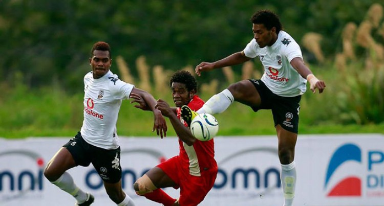Young Fijians Lose To Amicale