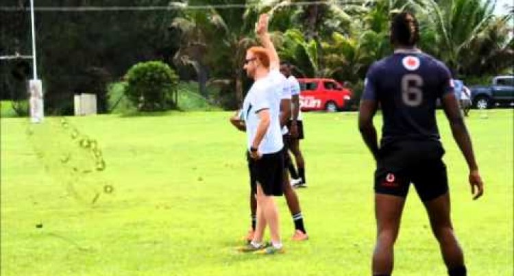 Fiji 7s Team Training At Uprising Resort, Deuba