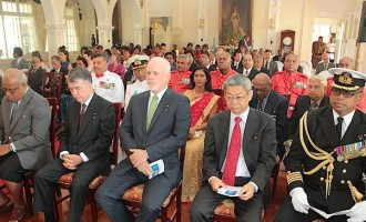 President Ratu Epeli Honours Ambassadors