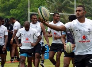 Vodafone Fiji 7s Team Training. Photos: RAMA