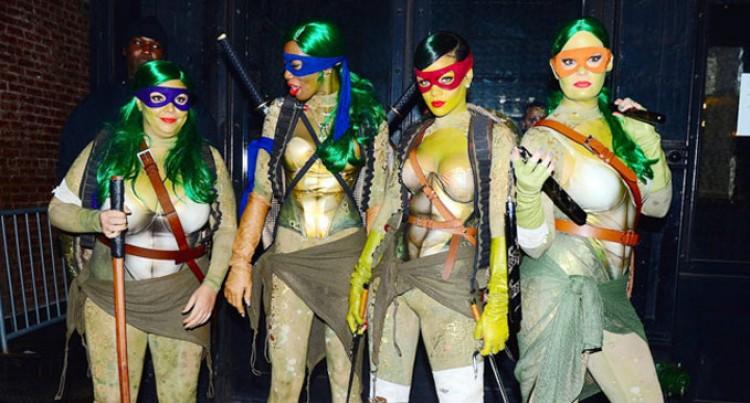 Rihanna's Ninja Outfit Bags  Best Dress At Halloween Do