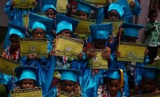 Bukuya Tiny Tots Graduate