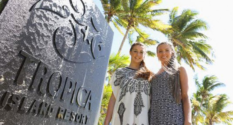Tropica Island Hosts Supermodels