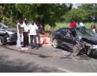 Three-car Smash-Up