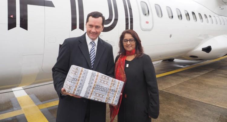 Fiji Airways Receives Keys To Its Newest ATR 72-600