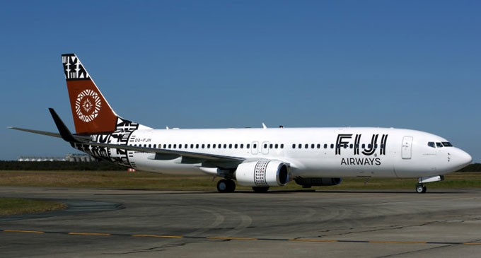 B737 NG Fiji Airways Contract