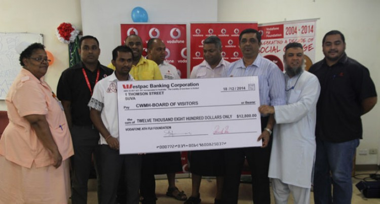 Vodafone Staff Donate $12,000 To CWM