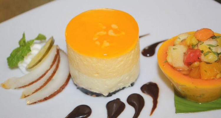 Dessert At Radisson BLU