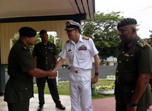 Australian Vice-Chief of Defence, Ray Griggs in Suva. Photos: Rama