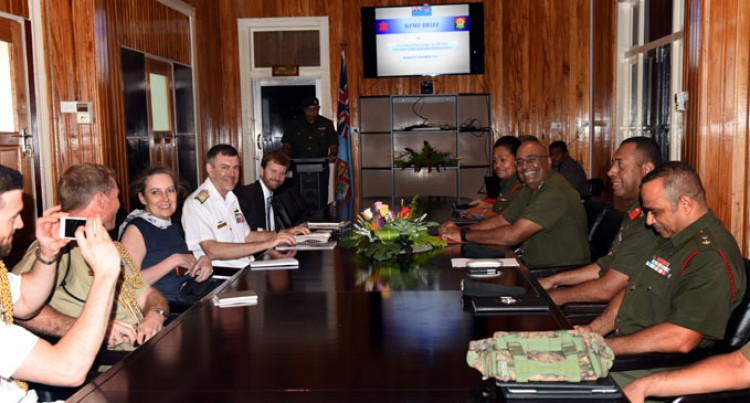 Fiji, Australia In Defence Talks