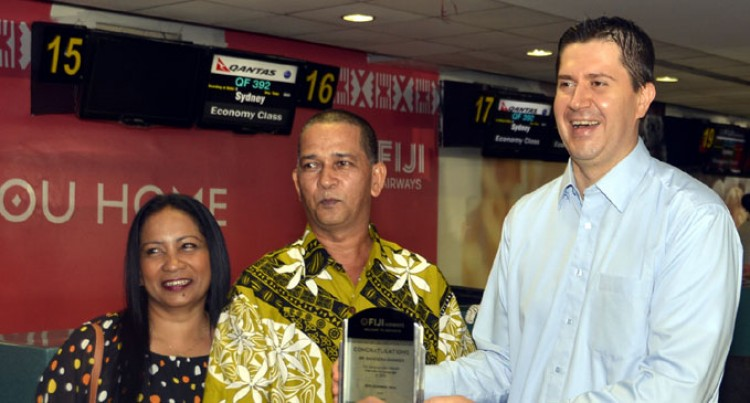 Shankar Is Airline's Millionth Passenger