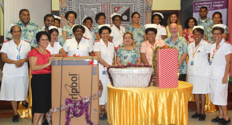 FRA Staff Members Give To Crèche Unit