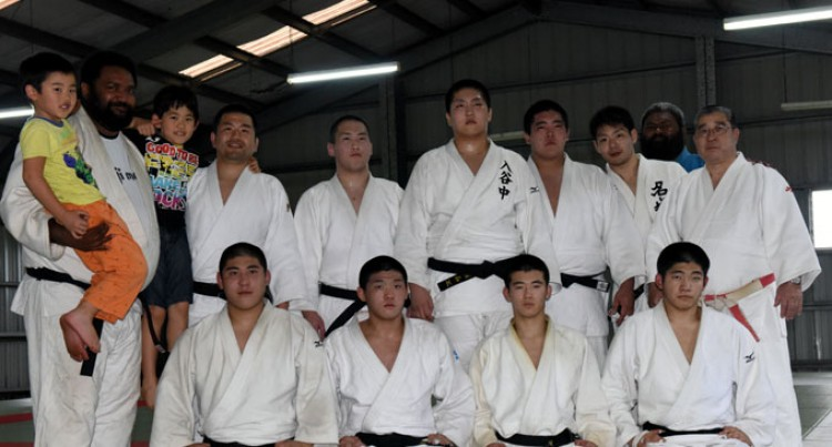 Fiji Out Of Judo Pacific Games