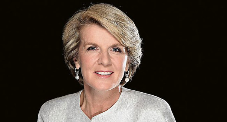 Julie Bishop Will Play Crucial Role  In The Formation Of A Relevant Regional Body
