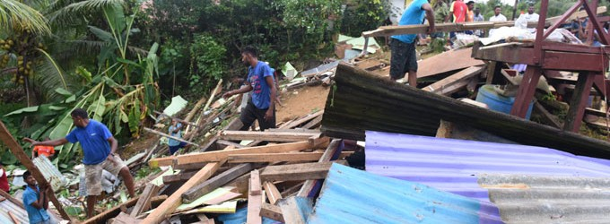 We're Lucky To Be Alive, Say Landslide Victims