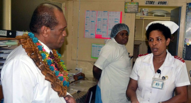 Labasa Hospital Welcomes Usamate