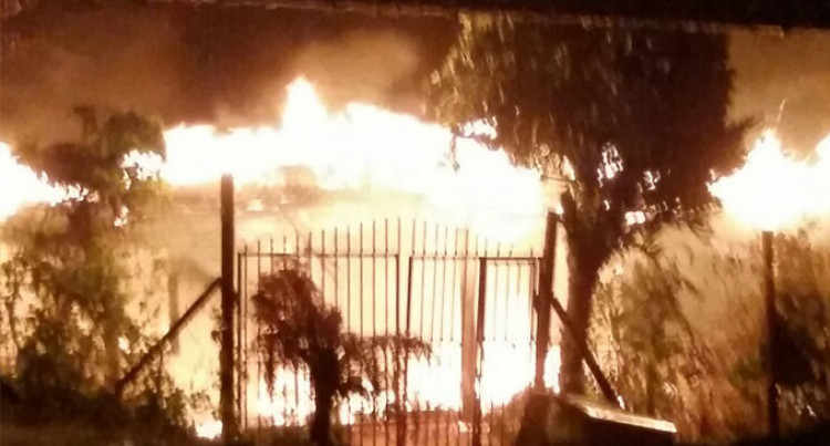 Early Morning Fire In Narere