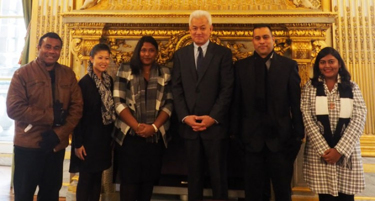 Praise In Paris For Fiji's Importance In The Pacific