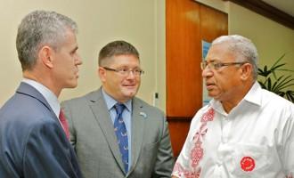 PM Bainimarama Receives Envoys