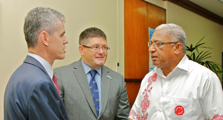 PM Bainimarama Receives Envoys