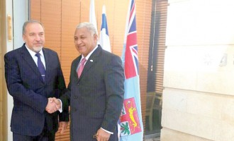 PM Holds Talks With Israeli Foreign Minister