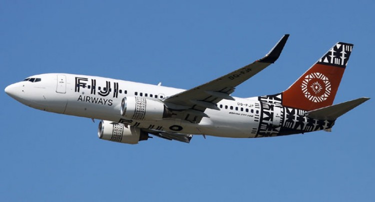 Fiji Airways Flying In  Right Direction