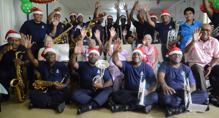 Police Carols Bring Joy To Pearce Home