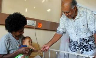 Ratu Epeli Visits West Hospitals