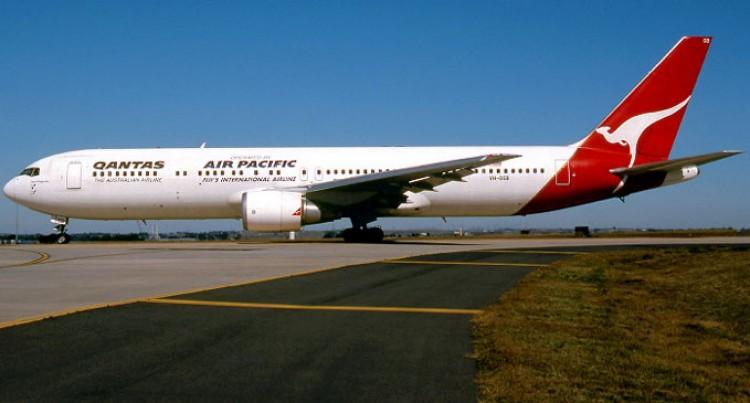 The Iconic Qantas 767  Makes Its  Last Flight