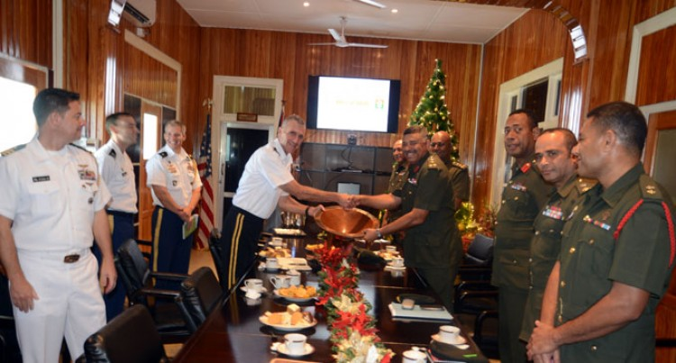 US Army Pacific Head In Fiji