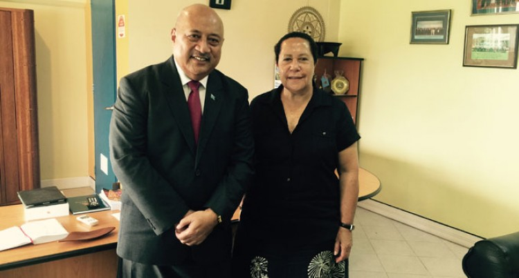 PIF Secretary-General Visits Ratu Inoke