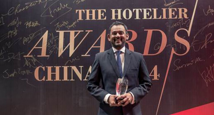 Tikaram Wins China's First Hotelier Awards