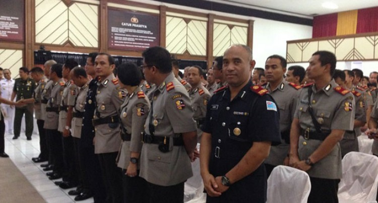 Fijian Officer Ends Indonesia Training