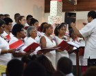 Church Sings carols