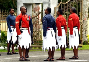 Change Of Guard @ Govt House. Photos: Rama