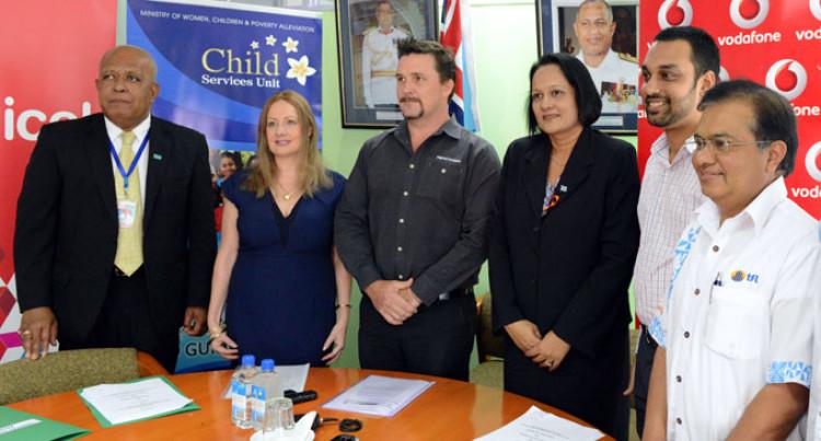 Signing Stamps Global Partnership