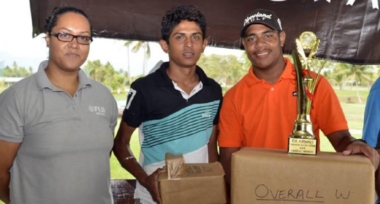 Jay Tee Leca Scoops Fiji Airways Junior Golf Open Championship