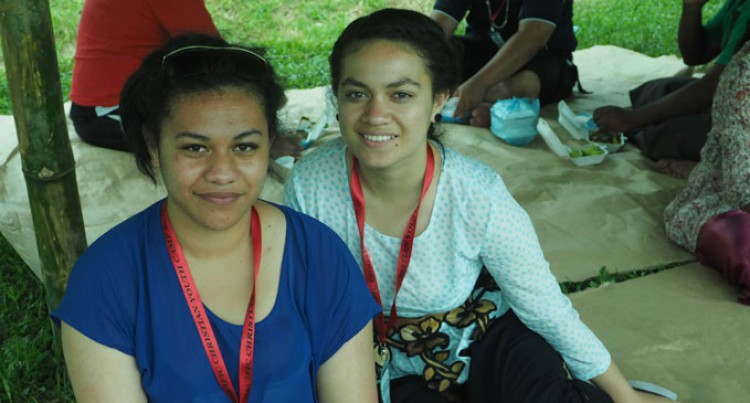 Tonga Sisters Relish Youth Camp