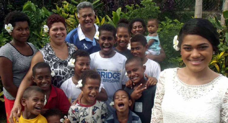 Miss World Fiji Back Home