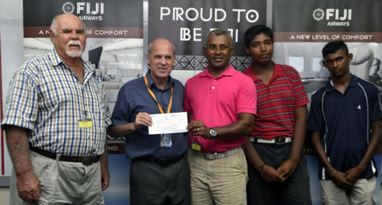 Fiji Airways Backs Junior Players